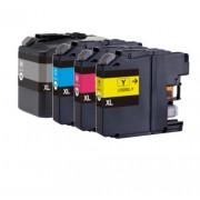 (4pack) BROTHER LC525 LC529 multipack - kompatibilné náplne do tlačiarne Brother