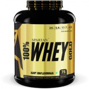 Spartan Nutrition Whey Protein Gold Series - 5LBS Unflavoured