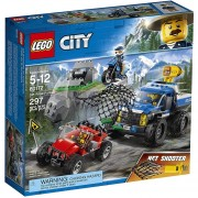 LEGO - 60172 LEGO CITY DIRTY ROAD PURSUIT CAÑÓN LANZARREDES