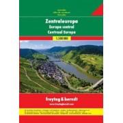 Wegenatlas - Atlas Autoatlas Centraal Europa | Freytag & Berndt