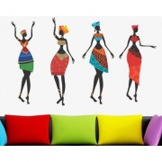 SS creators Small Wall sticker decals New african ladys Sticker