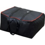 Bright 010 Garment Cover Storage Bag Moistureproof Foldable Garment Cover Storage Bags for Blanket, Sarees,Toys,Clothes with Zippered Closure and Handle Garment Cover - Black (pack of 1) Garment Cover, Storage Bag, Saree Cover, Blanket Bag(Black)