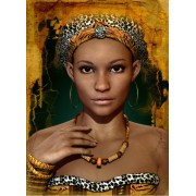 Puzzle Grafika Kids - African Woman, 300 piese (53701)