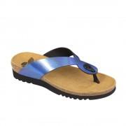 Scholl Kenna kék lábujjközi női papucs bioprint technológiával 37-39