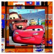 Puzzle 60 piezas Cars con Marco - Clementoni