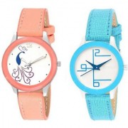 New Fashion Lifestyle Queen Analog Watch Sett Of Two For Girls and Women 021 Watch