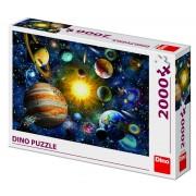 Puzzle Sistemul Solar, 2000 piese, 10-15 ani
