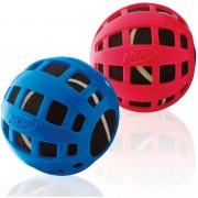 Nerf Dog Squeak Checker Ball, 2.5-inch