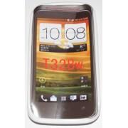 Силиконов гръб ТПУ за HTC Desire V T328w Бял