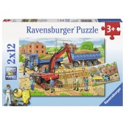 PUZZLE SANTIER, 2X12 PIESE - RAVENSBURGER (RVSPC07589)