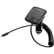 UKV prijenosnik FMT700 Technaxx s funkcijom punjenja za iPhone, kuglični zglob