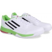 Adidas SONIC ATTACK Men Tennis Shoes For Men(Green, White)