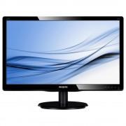 "Monitor 22"" PHILIPS 220V4LSB, TN, 1680*1050, 16:10, WLED, 5 ms, 250 cd/m2, 170/160, 10M:1/ 1000:1, D-SUB, DVI, VESA, Black"