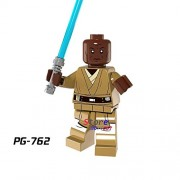 Generic 50pcs Star Wars Darth Vader Figure Windu Unduli Clone Trooper Red Snowtrooper Captain Panaka Building Blocks Bricks Friends Toys PG762