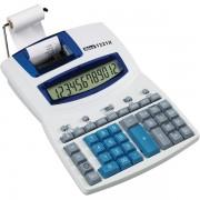 Calcolatrice stampante 1221X Ibico IB410055 - 082320 Cifre display 12 - Colore bianco/blu - Dimensioni 278x212x78 mm - Larghezza rotolo 57 mm - IB410055