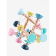 VERTBAUDET Brinquedo estica-encolhe, em madeira bege claro bicolor/multicolor