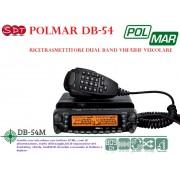 POLMAR DB-54M RICETRASMETTITORE DUAL BAND BIBANDA VEICOLARE VHF/UHF