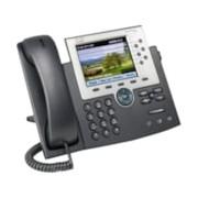 Cisco 7965G IP Phone - Refurbished - Desktop, Wall Mountable - Dark Grey