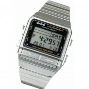 Reloj Casio Db-380 Databank Vintage -Plateado Con Negro