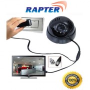 Cctv Dome Camera With Built-In DVR (Memory Card Slot) + Remote And TV Video Output