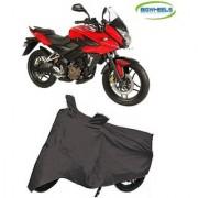 Bigwheels Premium Quality Grey Matty Bike Body Cover For Bajaj Pulsar 150 AS