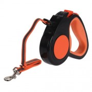 Lesă pentru câini Pet guide, portocaliu, 3 m