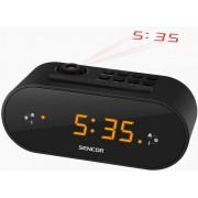 SRC 3100 B Digitális kivetítős ébresztő óra FM rádióval