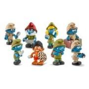 Schleich Pack de 8 figurines Les Schtroumpfs dans la jungle