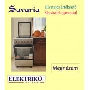 Savaria FF5406GBZM kombinált tűzhely , inox