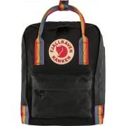Fjällräven Kanken Rainbow Mini Kinderdaypack schwarz