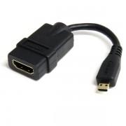 StarTech 12 cm High-speed HDMI-adapterkabel - HDMI-naar-HDMI Micro - F/M