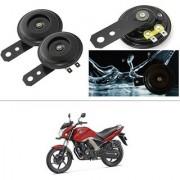 KunjZone Horn 12V 105db Scooter Moped Dirt ATV Motorbike Moto Bikes Horn Loud Air Horns Motorbike Classic Horns (Set of 2) For Honda CB Unicorn