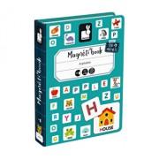 Carte magnetica - Invata alfabetul, 130 piese