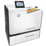 Imprimanta HP LaserJet PageWide 556XH, laser jet color, A4, 50 ppm, Duplex, NFC, Retea, Wireless + Antivirus BitDefender Plus 2018, 1 PC, 1 an, Licenta noua, Scratch Card