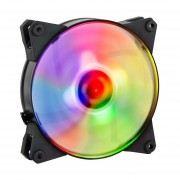 Ventilador Cooler Master 120mm MASTERFAN PRO 120 Air Flow RGB Led MFY-F2DN-11NPC-R1-Negro