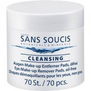 Sans Soucis Skin care Cleansing Eye Make-up Remover Pads oil-free 1 x 70 Pads 1 Stk.