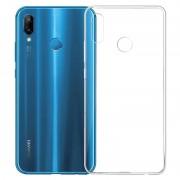 Capa de TPU Anti-Slip para Huawei P20 Lite - Transparente