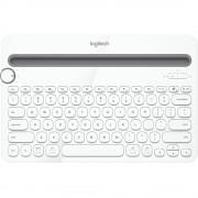 Tastatura Bluetooth K480 Multi-Device Keyboard Alb LOGITECH