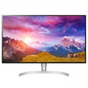 Монитор LG 32UL950-W, 31.5 инча 4K (3840 x 2160) IPS, DCI-P3, 5ms, 1300:1, Mega DFC, 450 cd/m2, VESA DisplayHDR 600, HDMI, DP, Thunderbolt3, FreeSync