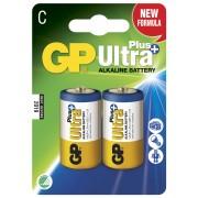 Blister 2 Batterie Mezza Torcia C GP Ultra Plus