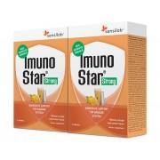 Sensilab ImunoStar Strong 25 Wirkstoffe zur Stärkung des Immunsystems Schnelle Wirkung Orangengeschmack 2x 3 Beutel Sensilab