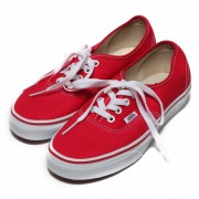 ヴァンズ VANS CHAPTER Authentic(RED) レディース