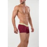 Mundo Unico Yakushima Short Boxer Brief Underwear Marsala/Gold 15300845-87