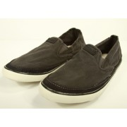 Crevo Footwear Nepal Shoes Black Twill