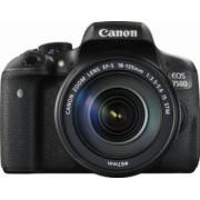 Aparat Foto DSLR Canon EOS 750D Kit 18-135mm f3.5-5.6 IS Black