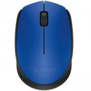 Безжична оптична мишка Logitech Wireless Mouse M171, Синя, 910-004640