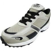 Port Mens Grey Cricket Shoes