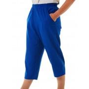 Seniors' Wear Cobalt Woven 3/4 Pants