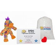 """Make Your Own Stuffed Animal Mini 8 Inch """"Popcorn"""" the Duck Kit - No Sewing Required!"""