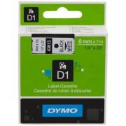 Dymo 43613 Nastro nero su bianco Originale S0720780